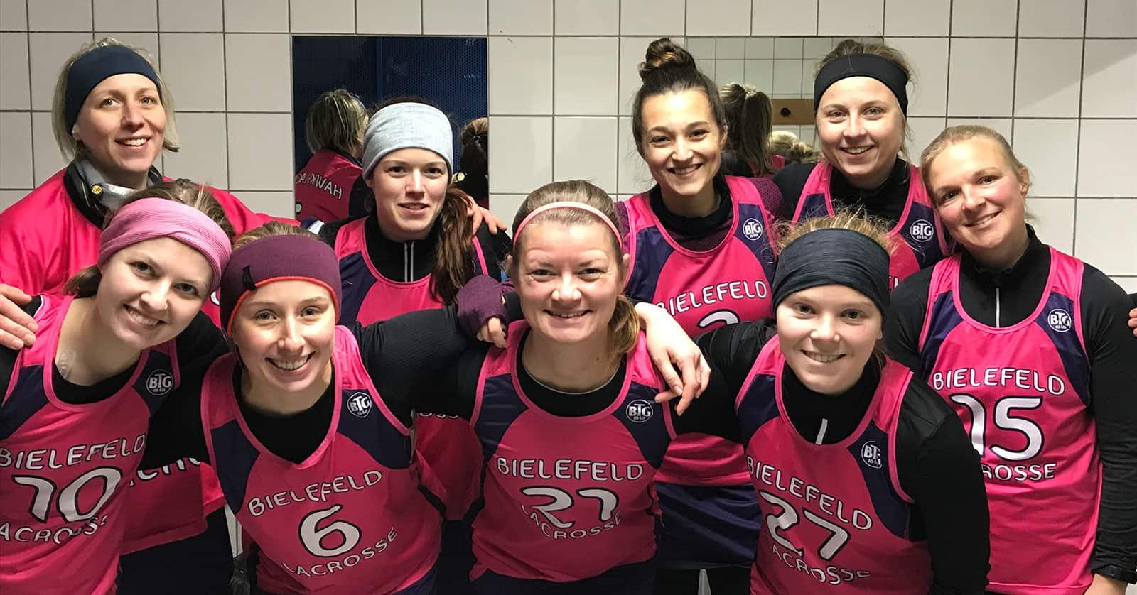 2. Sieg in der Hinrunde für die Lacrosse Damen der BTG